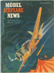 Model Airplane News Cover for September 1943 by Jo Kotula  Vultee A-31 Vengeance