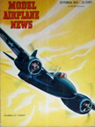 Model Airplane News Cover for xxxy by Jo Kotula Grumman F7F Tigercat