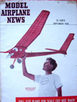 Model Airplane News Cover for September, 1948