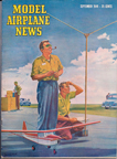 Model Airplane News Cover for September, 1949
