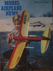 Model Airplane News Cover for September, 1951