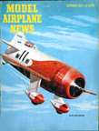 Model Airplane News Cover for September, 1953 by Jo Kotula Granville Brothers Gee Bee