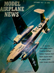 Model Airplane News Cover for Deptember, 1957 by Jo Kotula North American B-25 Mitchell