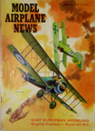 Model Airplane News Cover for September, 1960 by Jo Kotula Fokker D. VII and Sopwith Dolphin