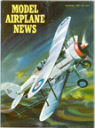 Model Airplane News Cover for September, 1961 by Jo Kotula Gloster SS.37 Gladiator