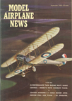 Model Airplane News Cover for September, 1963 by Jo Kotula Royal Aircraft Factory BE.2 Quirk