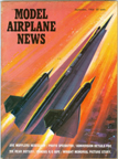 Model Airplane News Cover for September, 1964 by Jo Kotula Lockheed Mach 3 A-12 Cobra