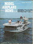 Model Airplane News Cover for September, 1965