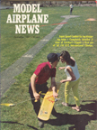 Model Airplane News Cover for September, 1967