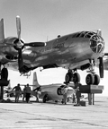 The Bell XS-1 (X-1)- loading into b-29 mother ship