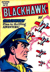 Cover of Blackhawk No. 12 (Autumn 1946).