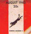 Tribute to VB-3 on the August 1942 cover of Model Airplane News