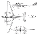 The Handley-Page HP52 Hampden