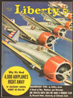 P-35 on the cover of the October 15, 1938 issue of Liberty magazine, art by Jo Kotula