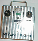 MAN 2-3-4 Proportional Radio Control System exterior