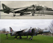 The Hawker-Siddley Gr.3 Harrier