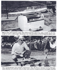 Rise off water model airplane weighing