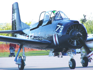 The North American T-28 Trojan Trainer