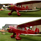 The WACO YKC Cabin Biplane