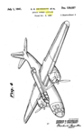 The Douglas A-26 Invader Design Patent D-128,027