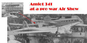 The Amlot 341 Long Range Bomber at an airshow