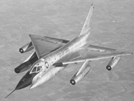 The Convair B-58 Hustler
