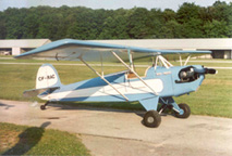 Corben Baby Ace Homebuilt Airplane
