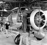The Beechcraft Model 17 Staggerwing Assembly Line