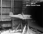 The Bell XP-77 Wind Tunnel Test