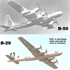 The Boeing B-50 Superfortress