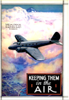 Boeing Model 247 article in Popular Mechanics July 1935 Keeping Them in the Air
