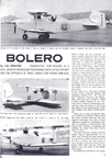 Bolero Radio Controlled Stunt Biplane Model Airplane News April 1964