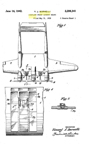 The Burnelli C-34 (A-1) Bomber  Patent No. 2,286,341