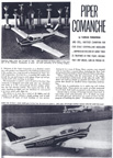 Cover of Model Airpane News June 1962, Piper PA-24 Commanche, Florian Piorkowski