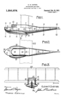 Glenn Curtiss Stepped Hull Patent No. 1,256,878