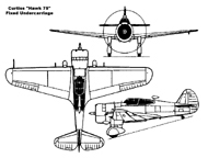 The Curtiss Model 75 Export Hawk