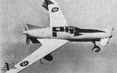 The Curtiss-Wright CW-24 ( XP-55)  Ascender