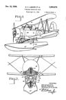 The Curtiss SOC2 Seagull Flotation Gear Patent No. 2,064,674
