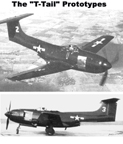 The Curtiss X15-C Stingaree  - T-Tail prototypes