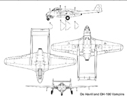 The De Havilland D.H.100 Vampire