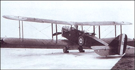 The AIRCO DeHaviland No. 9 (DH-9)