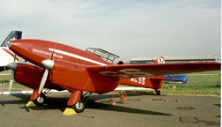 The Dehaviland DH. 88 Comet Grosvenor House