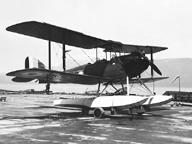 The DeHaviland DH 60 Moth (Cirrus Moth) Floatplane version