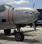 The Douglas A-26 Invader 8 gun nose