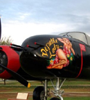 The Douglas A-26 Invader 6 gun nose