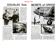 Popular Mechanics Article Douglas Tells the Secrets of Speed February 1935
