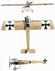 Fokker E-111 Eindecker World War One Fighter