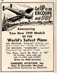 Erco Ercoupe advertisement
