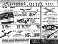 Ad for the Eureka Kit for the P2V Neptune