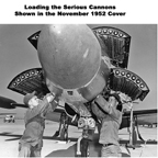 Loading The Lockheed F-94 Starfire Cannon